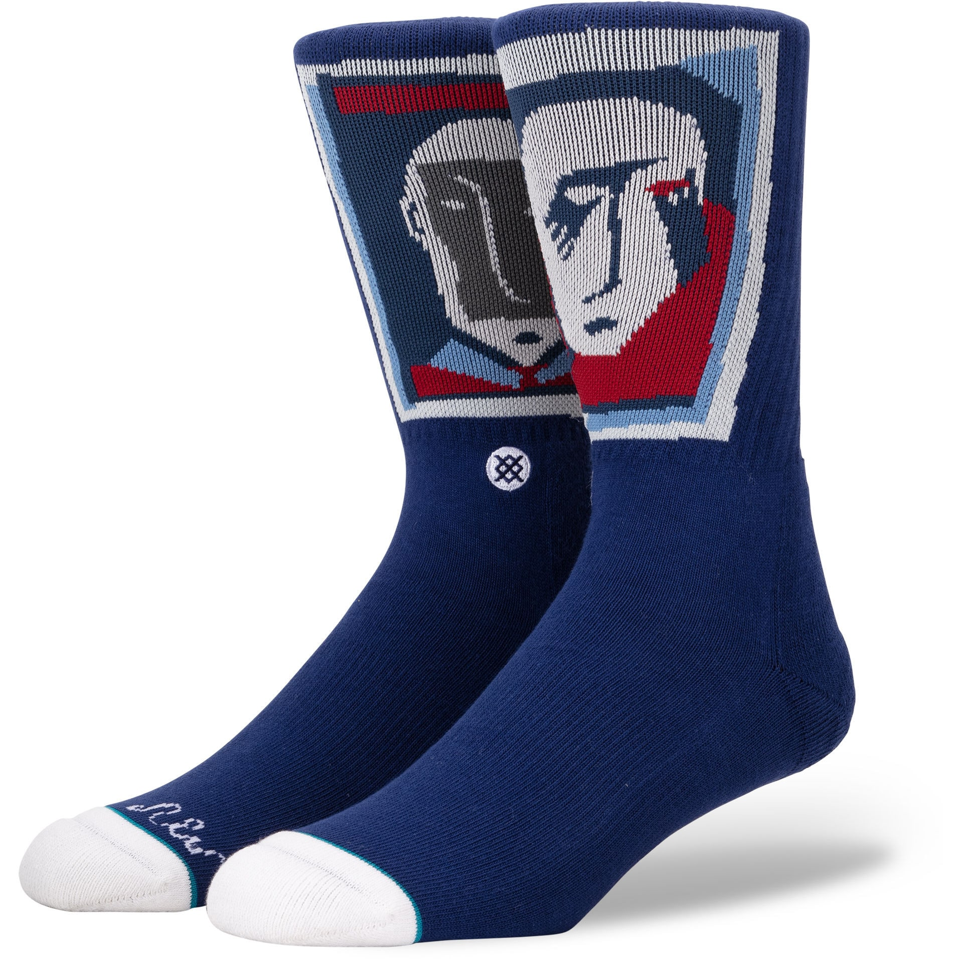 Image of Stance Face Socks - Navy