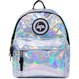 Hype Holo Mini Backpack - Silver