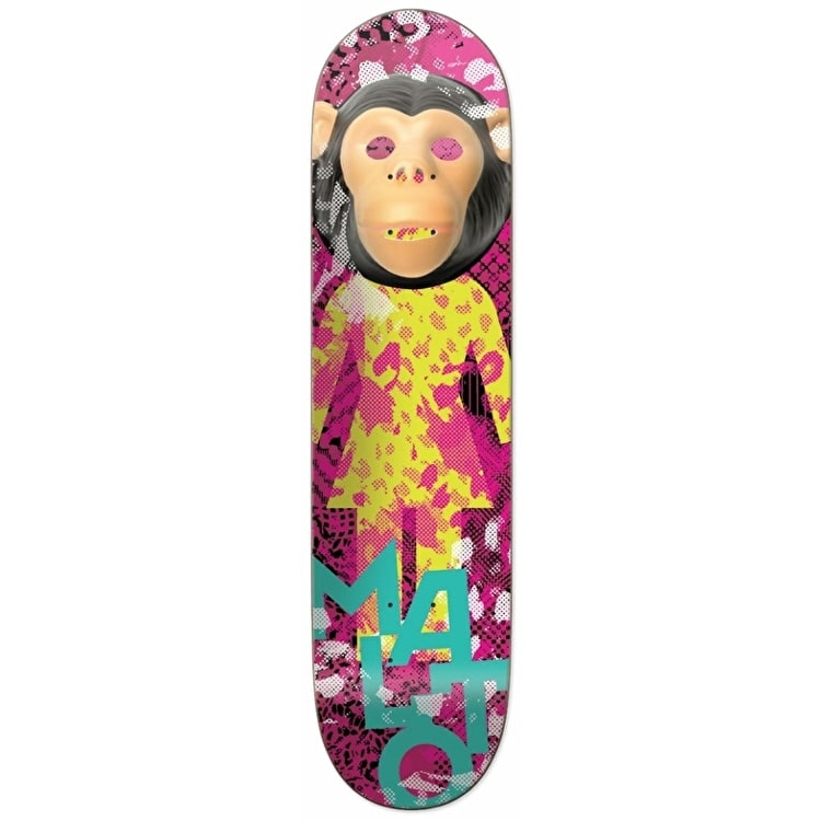 Girl Skateboard Deck - Candy Flip Malto 8.125""