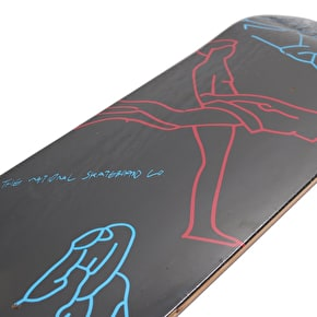National Skateboard Co Hellicopter Skateboard Deck - Red/Blue/Black 8.25