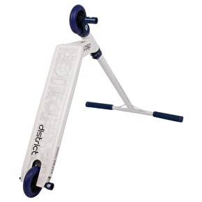 District S-Series Custom Scooter - White/Blue