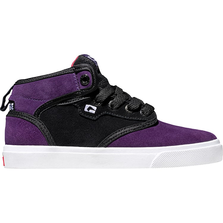 Globe Motley Mid Kids - Black/Crown