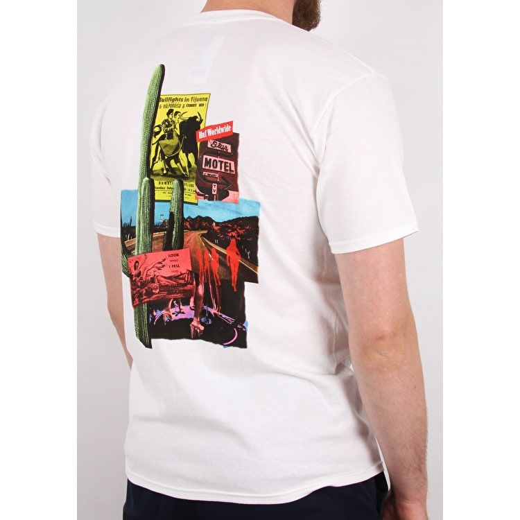 Huf Country T Shirt - White