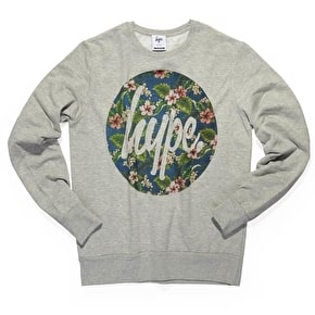 Hype Flower Circle Crewneck