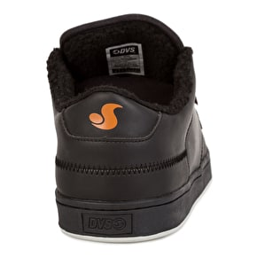 DVS Quentin Skate Shoes - Black Crazy Horse