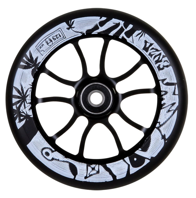 Image of AO 125mm Enzo 2 Signature Scooter Wheel - Black