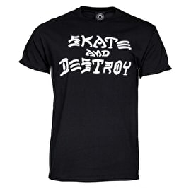 Thrasher Skate And Destroy T-Shirt - Black