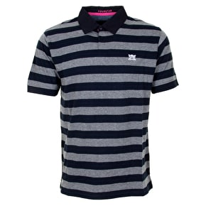 Fourstar Gonz Polo Shirt - Grey Heather