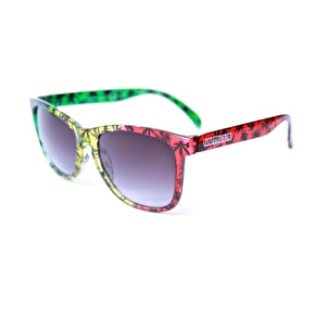 Happy Hour Pudwil Sunglasses - High Times Rasta