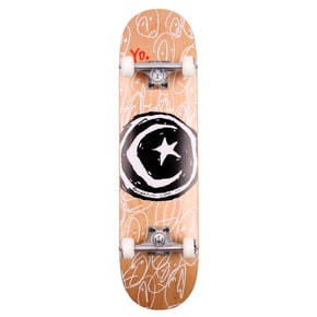 Foundation Star & Moon Yo! Complete Skateboard - 8.0