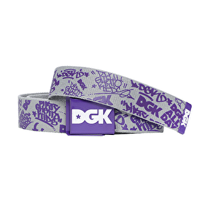 DGK Stunna Scout Belt - Grey