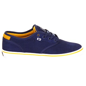 Globe Motley Shoe - Navy/Gold
