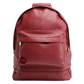 Mi-Pac Backpack - Tumbled Burgundy