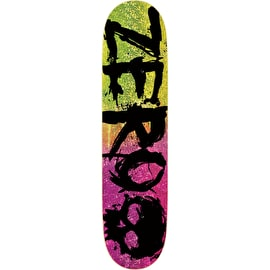 Zero Blood - 2-Tone Glitter Skateboard Deck