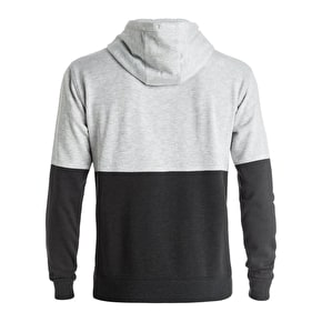 DC Rebel Block Hoodie - Grey Heather