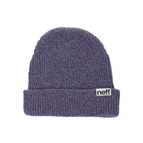 Neff Fold Heather Beanie - Teal/Purple