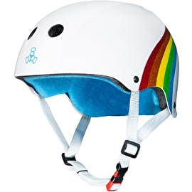 Triple 8 The Certified Sweatsaver Helmet - Rainbow Sparkle