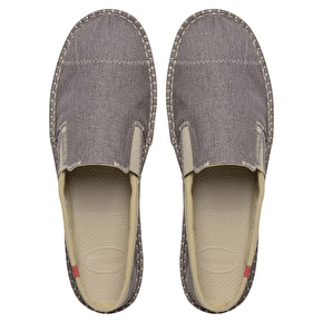 B-Stock Havaianas Origine Yacht Espadrilles - Grey - UK 10 (Box Damage)
