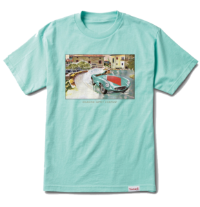Diamond Street Race T-Shirt - Diamond Blue
