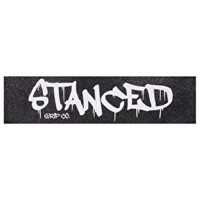 Stanced Logo Scooter Grip Tape - White 22