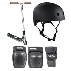 Aztek Fountain Stunt Scooter Bundle