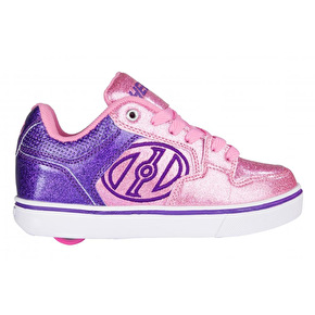 Heelys Motion Plus - Purple/Pink Glitter