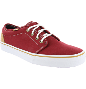 Vans 106 Vulcanized Shoes - (10oz Canvas) Brick Red