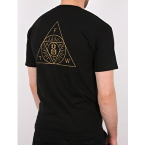 Rebel8 The Order T-Shirt - Black