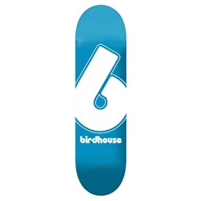 Birdhouse Giant B Logo Skateboard Deck - Blue 7.75