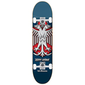 Birdhouse Stage 1 Hawk Shield Complete Skateboard - Blue 8