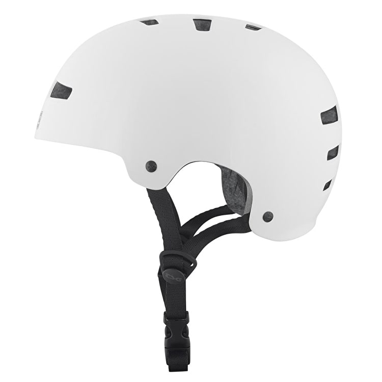 TSG Evolution Youth Injected Helmet - White XXS/XS