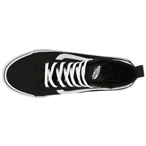 Vans SK8-Hi Slim Gore Skate Shoes - (Checker Gore) Black/True White