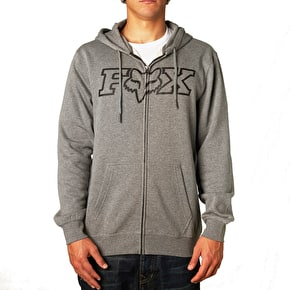 Fox Legacy Fheadx Zip Hoody - Heather Graphite