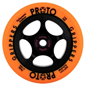Proto 110mm Gripper Day-Glo Scooter Wheel - Orange