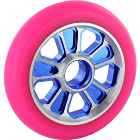 Root Industries Revolver Wheel Pink on Blue - 110mm