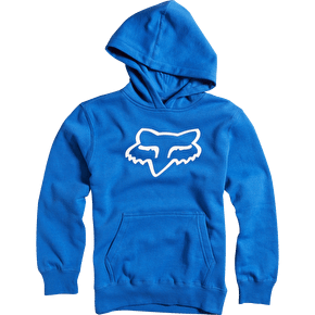 B-Stock Fox Legacy Foxhead Pullover Hoody - Blue - Medium (Soiled)