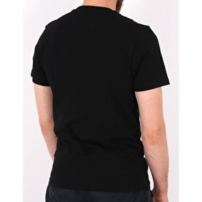 Vans Peaks Camp T-Shirt - Black