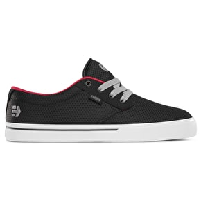 Etnies Jameson 2 Eco Skate Shoes - Black/White/Red