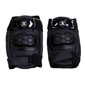 Karnage 4pk Pad Set - Knee & Elbow - Black