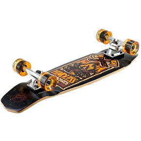 Mindless Campus IV Complete Longboard - Orange