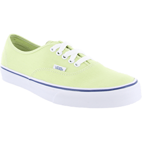Vans Authentic Shoes - Shadow Lime/True White