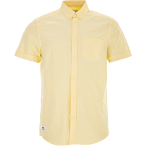 WeSC Oden Shortsleeve Shirt - Banana Cream