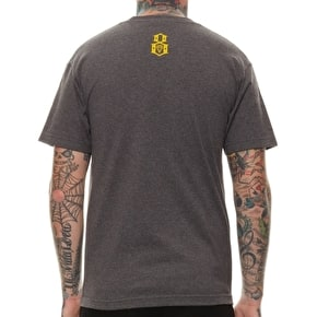 Rebel8 Good Crimes T-Shirt - Charcoal