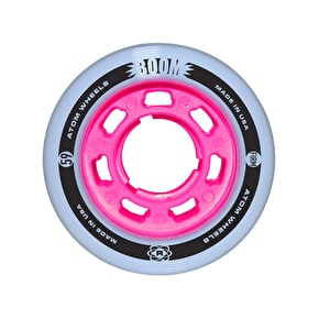 ATOM BOOM Slim 59mm Roller Derby Skate Wheels FIRM (4pk)
