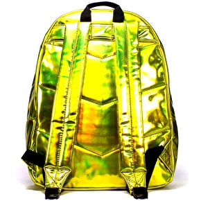 Hype Holographic Backpack - Yellow