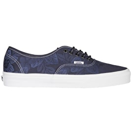 Vans Authentic Skate Shoes - (Floral Jacquard) Parisian Night/Blanc