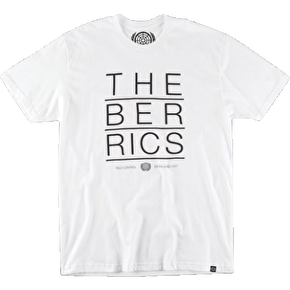 The Berrics Flipped T-Shirt - White