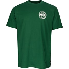 Independent Two Tone T Shirt - Forest Green