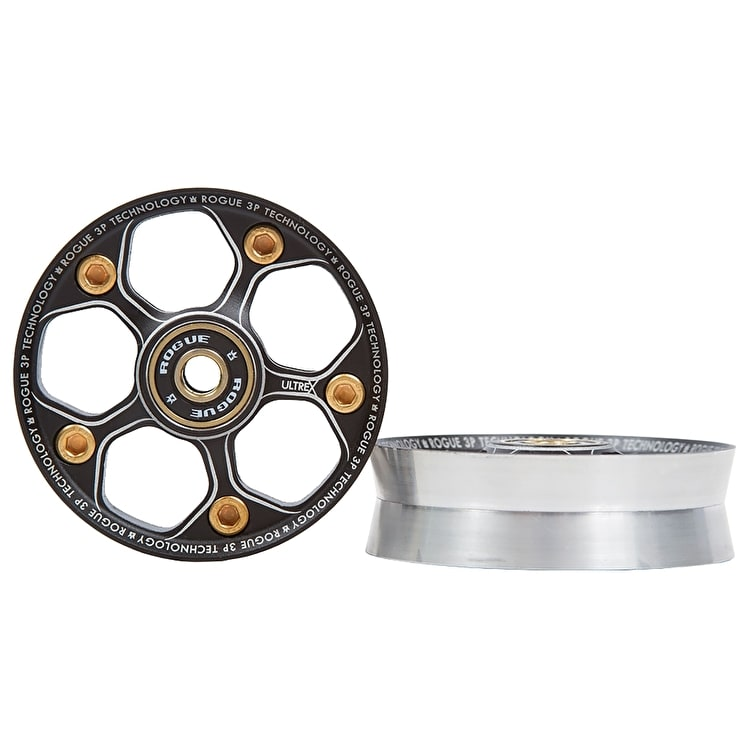 Rogue Ultrex 3 Piece Scooter Wheels Core - Black/Gold
