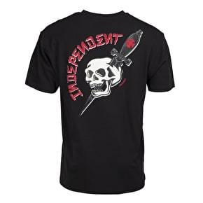 Independent Dressen Skull T-Shirt - Black